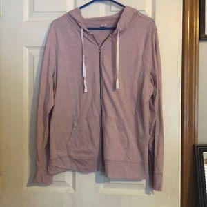 Women's zip-up sweatshirt